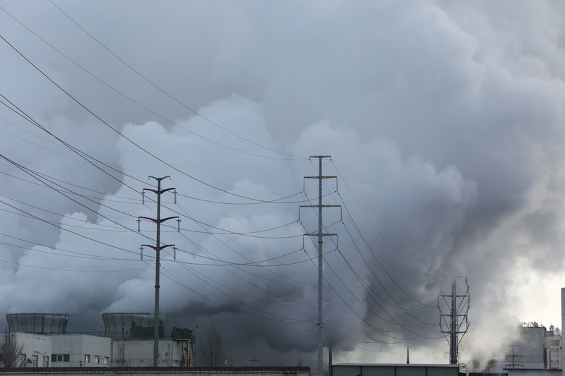 Steam from Coal Industry in China