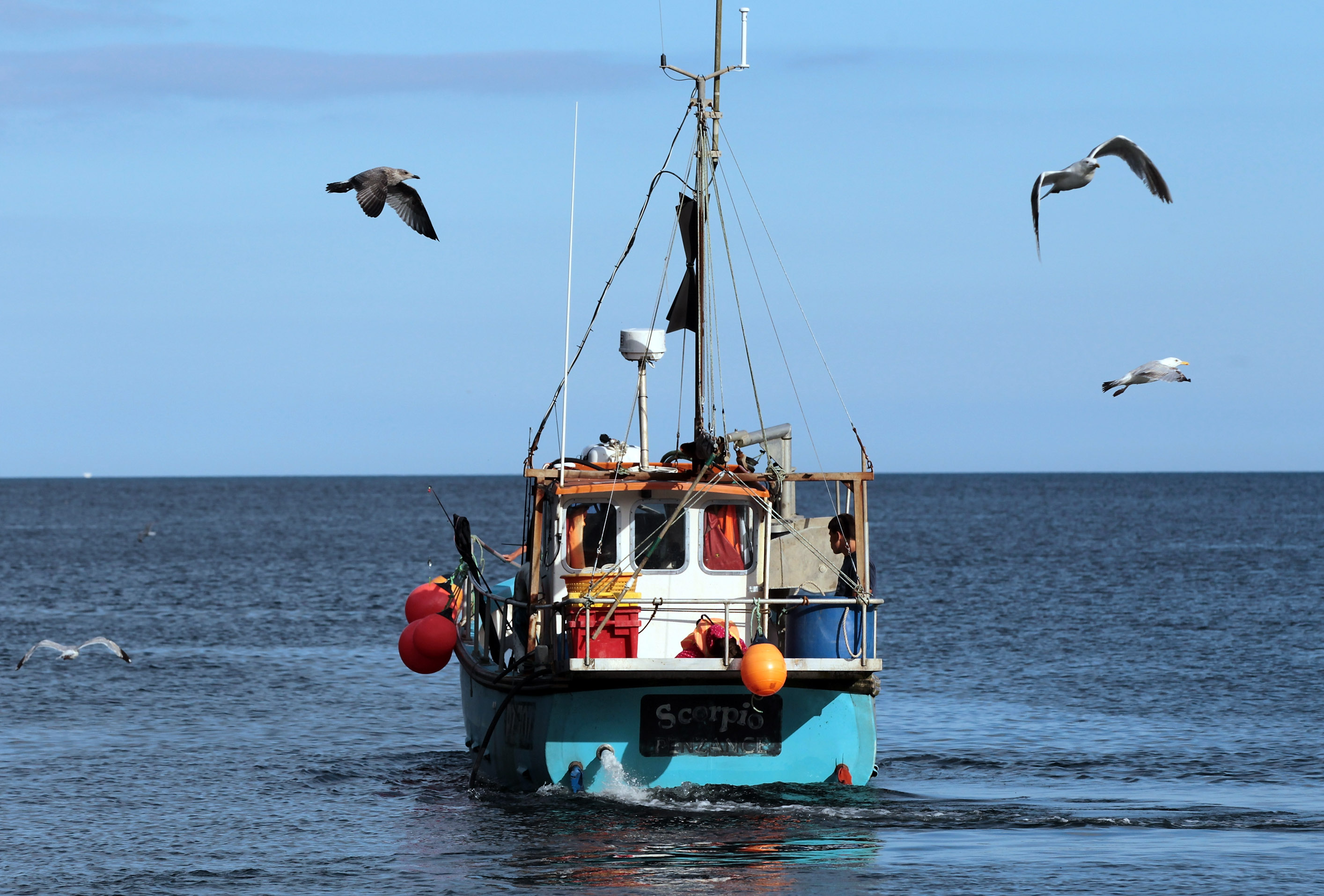 Big fish quota barons squeeze out small scale fishermen for Large fishing boats