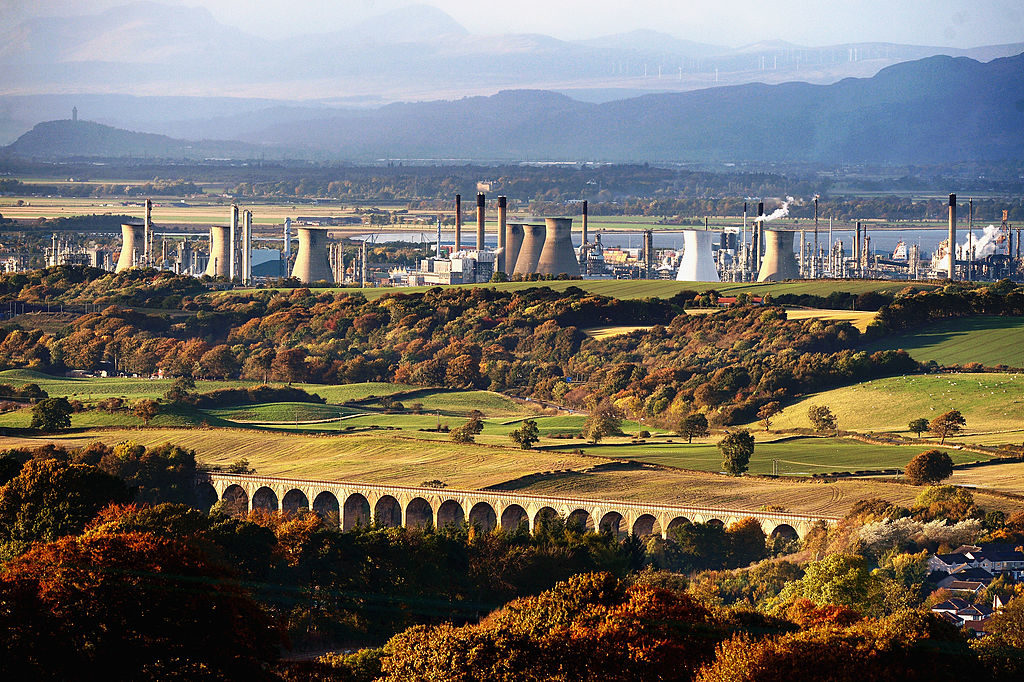 Closure Of The Grangemouth Petrochemical Plant Announced