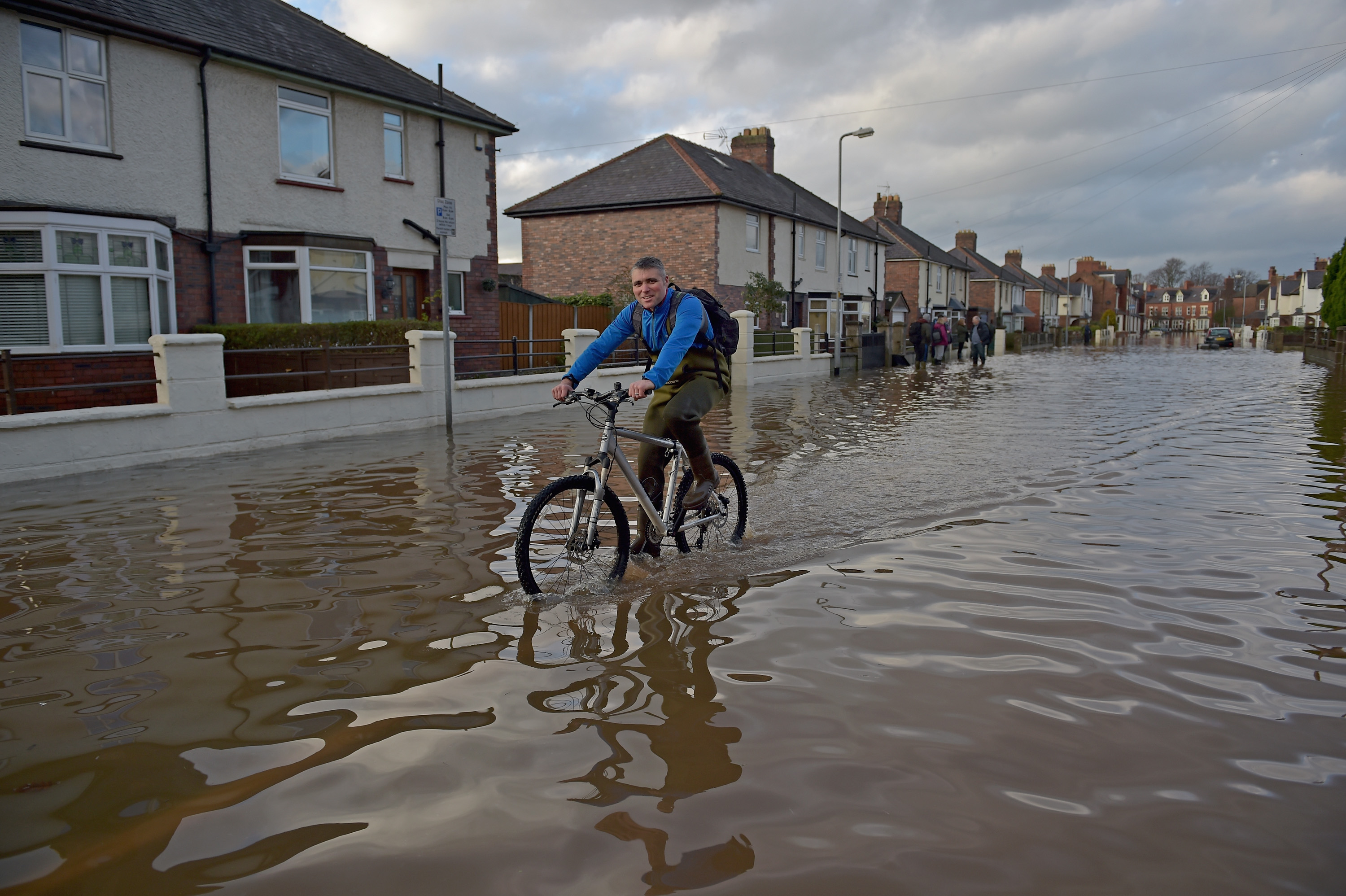 Flooding Chaos As Thousands Evacuated Across Northern England