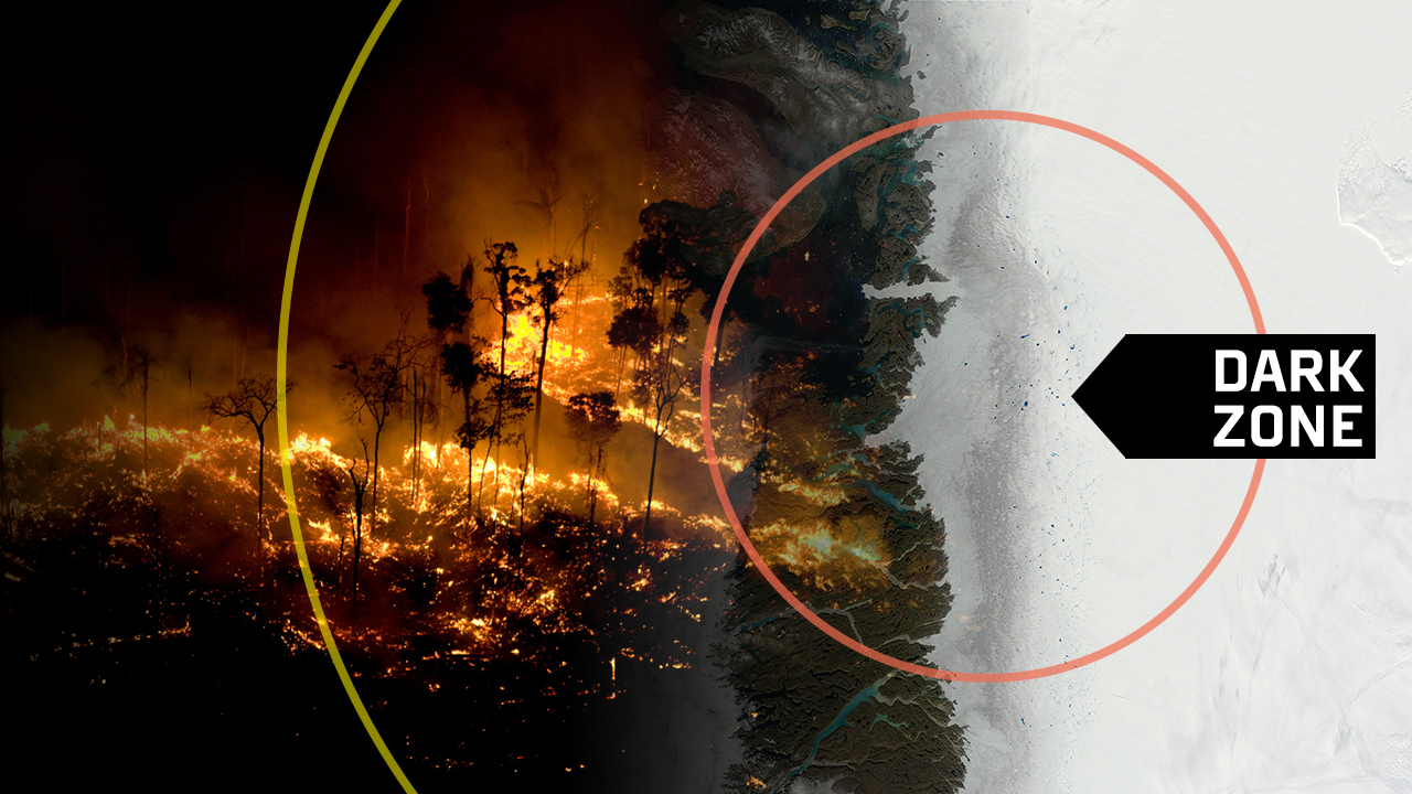 Ice and fire: How burning forests can help melt ice sheets